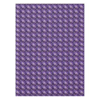 Purple Crocuses Floral Tablecloth