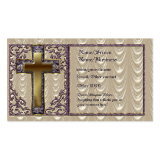 Purple Cross Introduction Card