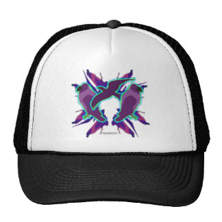 Purple Crow Hat