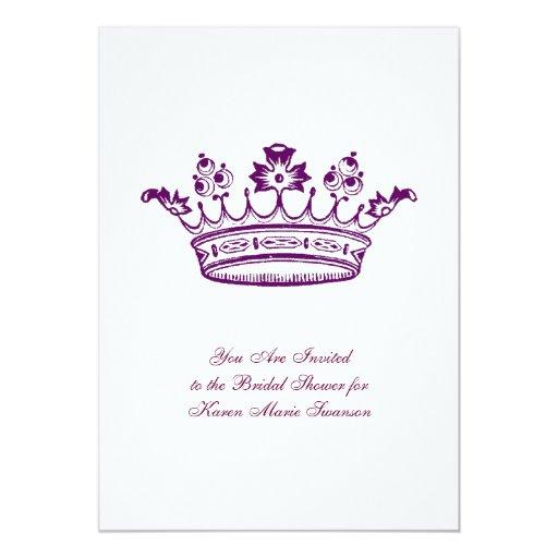 Purple Crown Card