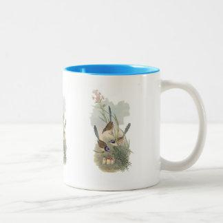 Purple-crowned Fairywren Two-Tone Coffee Mug