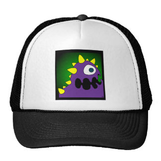 PURPLE CRUNCHER MESH HATS