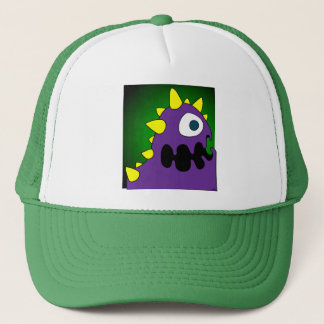 PURPLE CRUNCHER TRUCKER HAT