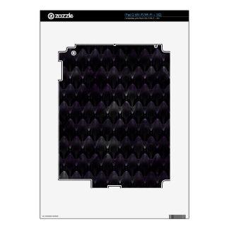 Purple Crystal Alien Skin Skins For The iPad 2