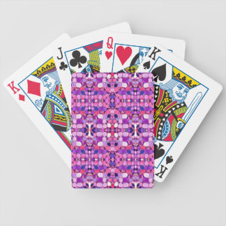 Purple Crystal Museum-Inspired Bicycle Playing Cards