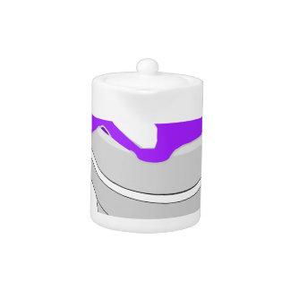 purple cup teapot