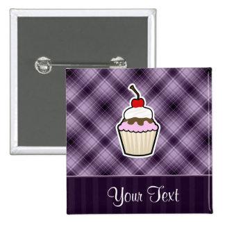 Purple Cupcake Pin