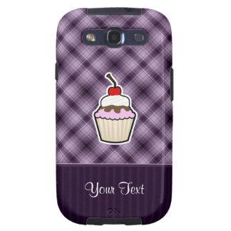 Purple Cupcake Samsung Galaxy SIII Cases