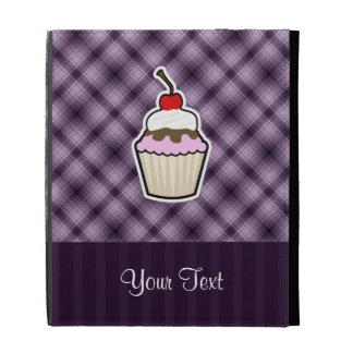 Purple Cupcake iPad Cases