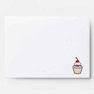 Purple Cupcake Envelopes