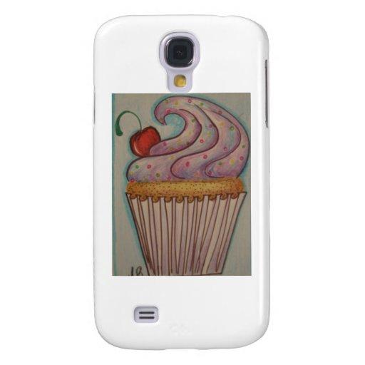 Purple cupcake galaxy s4 covers