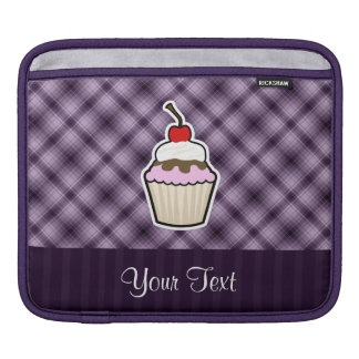 Purple Cupcake iPad Sleeve