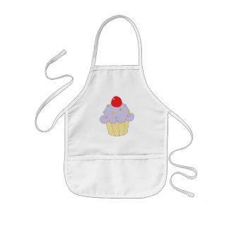 Purple Cupcake Kids' Apron
