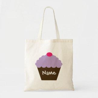 Purple Cupcake Love Bag