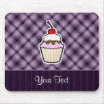 Purple Cupcake Mouse Pad