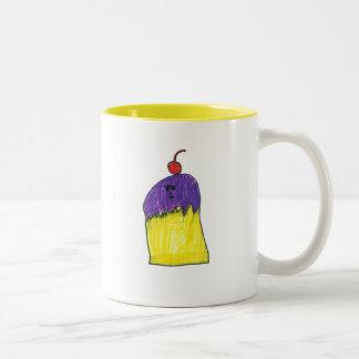 Purple Cupcake Mug