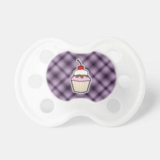 Purple Cupcake Pacifier
