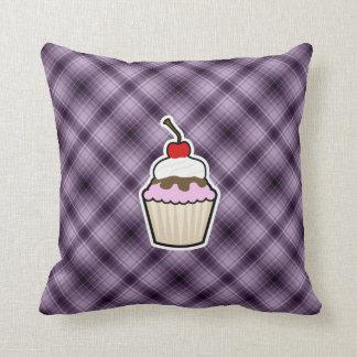 Purple Cupcake Pillow