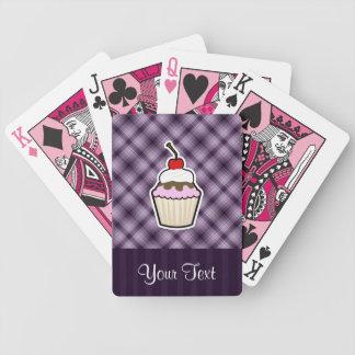 Purple Cupcake Card Decks