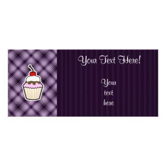 Purple Cupcake Full Color Rack Card