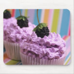 Purple Cupcakes Mouse Pad