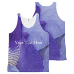 Purple Custom All-Over Printed Unisex Vest