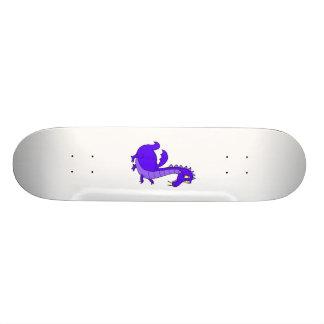 Purple Cute Cuddly Dragon Skateboards