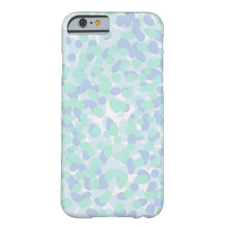 Purple Cyan And White Speckled Case