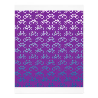 purple cycle style letterhead