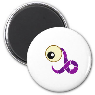 Purple Cyclops Creature Magnet