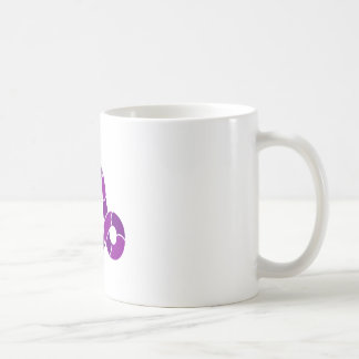 Purple Cyclops Creature Classic White Coffee Mug
