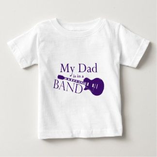 Purple Dad is in a Band Shirt