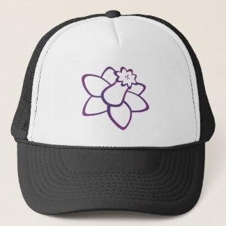 Purple Daffodil Trucker Hat