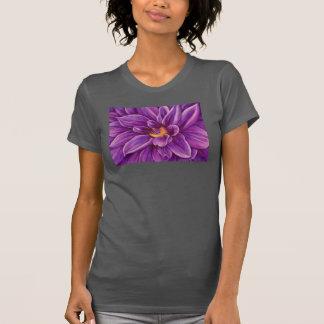 Purple Dahlia Flower Original Art Tank Top