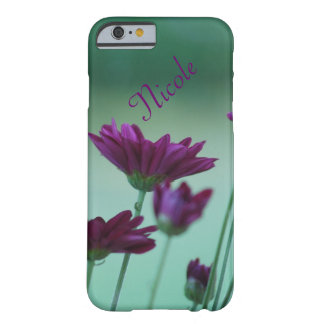 Purple Dahlia Flowers for Nicole Barely There iPhone 6 Case