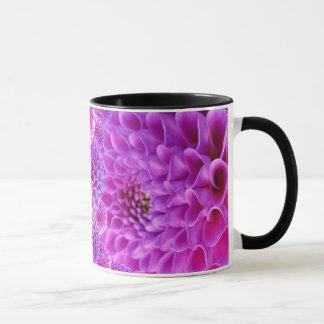 Purple Dahlias Mug