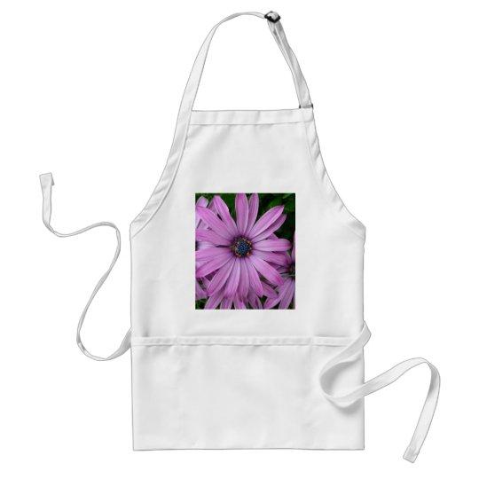 Purple Daisies Adult Apron