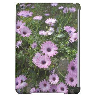 Purple daisies iPad air case