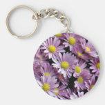 purple daisies.JPG Key Chains