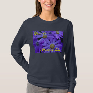 Purple Daisies - T-Shirt #4