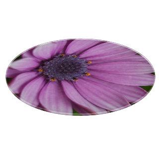 Purple Daisy 1b Cutting Board