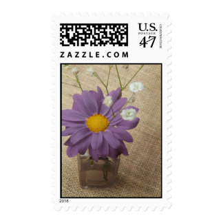 Purple Daisy + Apothecary Bottle Postage