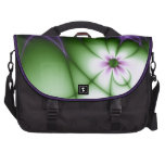 Purple Daisy Bags For Laptop