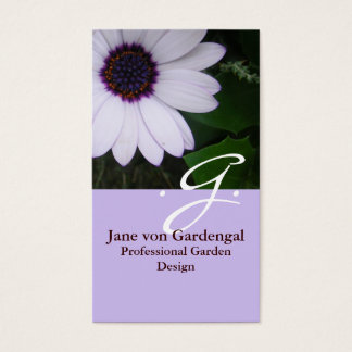 Purple Daisy Business Card
