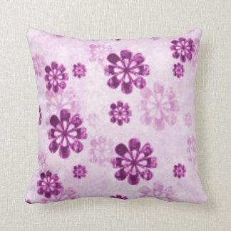 Purple Pastel Flowers Pillows - Decorative & Throw Pillows Zazzle