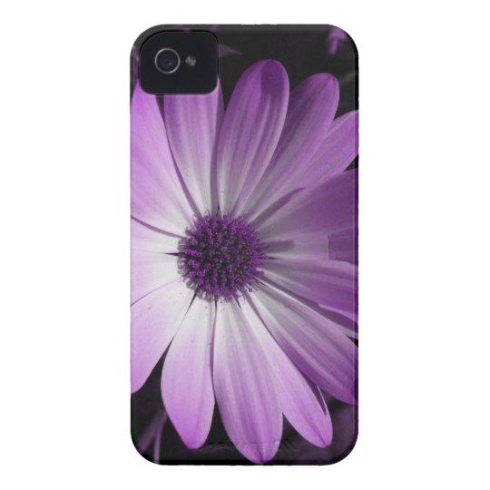 Purple Daisy Flower Blackberry Bold Case