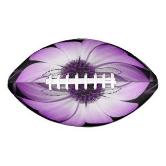Purple Daisy Flower Football