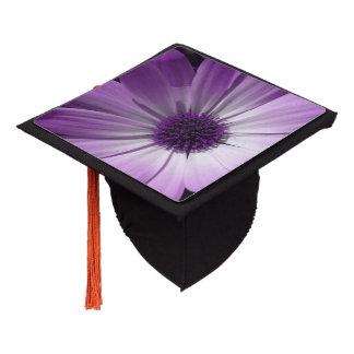 Purple Daisy Flower Graduation Cap Topper