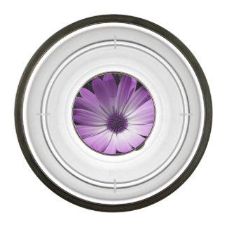 Purple Daisy Flower Pet Bowl