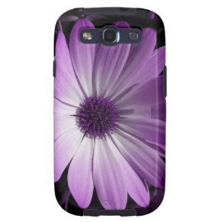 Purple Daisy Flower Samsung Galaxy S Case Galaxy S3 Case